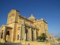Kirche Ta 'Pinu in Gozo lizenzfreie stockbilder