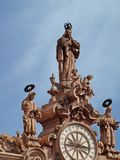 Kirche Taxco Mexiko Sankt-Prisca Stockbilder