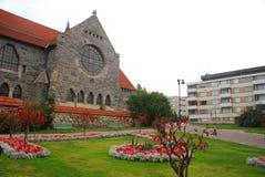 Kirche in Tempere Stockfotografie