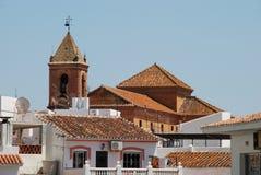 Kirche, Torrox, Andalusien, Spanien. Stockbilder