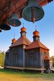 Kirche und belltower Lizenzfreies Stockbild
