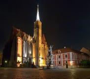 Kirche und Denkmal Stockfotos