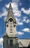 Kirche und Himmel stockbild