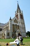 Kirche und Hochzeit Lizenzfreies Stockbild