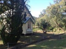 Kirche und Landschaft Stockbilder