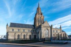 Kirche unserer Dame Calais stockfotografie