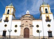 Kirche unserer Dame Del Socorro Stockfotos