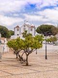 Kirche unserer Dame der Märtyrer, Castro Marim, Portugal Lizenzfreie Stockfotografie