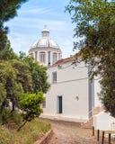 Kirche unserer Dame der Märtyrer, Castro Marim, Portugal Lizenzfreies Stockfoto