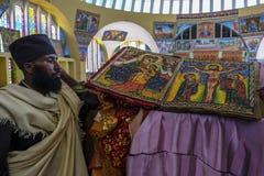 Kirche unserer Dame Mary von Zion in Aksum, Äthiopien Lizenzfreie Stockbilder