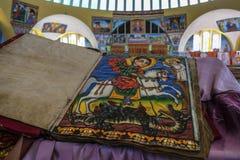 Kirche unserer Dame Mary von Zion in Aksum, Äthiopien Stockfotografie