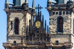 Kirche unserer Dame Before Tyn, Prag Lizenzfreie Stockfotografie