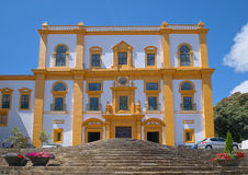 Kirche unserer Dame von Carmo, Angra, Azoren Lizenzfreie Stockfotos