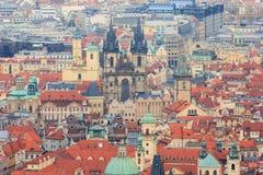 Kirche unserer Dame vor Týn Lizenzfreie Stockbilder