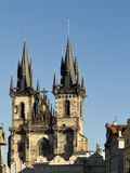 Kirche unserer Dame vor Tyn Lizenzfreies Stockbild