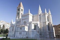 Kirche in Valladolid Lizenzfreie Stockfotos