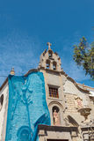 Kirche Vegueta-Nachbarschaft Stockfoto