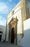 Kirche, Vejer De-La Frontera Stockbild