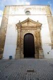 Kirche, Vejer De-La Frontera Lizenzfreie Stockfotografie