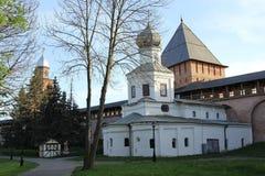 Kirche in Velikiy Novgorod lizenzfreie stockfotos