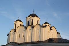 Kirche in Velikiy Novgorod Stockbild