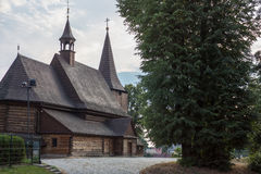 Kirche vom heiligen Michael der Erzengel in Zernica lizenzfreies stockfoto
