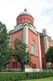 Kirche vom slowakischen Stockbild