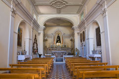 Kirche von Addolorata. Maratea. Basilikata. Italien. Stockbilder