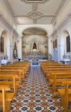 Kirche von Addolorata. Maratea. Basilikata. Italien. Lizenzfreie Stockfotografie
