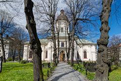 Kirche von Adolf Frederick in Stockholm Stockfotografie