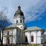 Kirche von Adolf Frederick in Stockholm Stockbilder