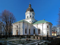 Kirche von Adolf Frederick in Stockholm Lizenzfreies Stockfoto