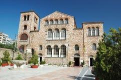 Kirche von Aghios Demetrios in Saloniki, Griechenland Stockfotos