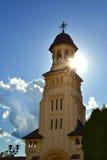 Kirche von alba Iulia Lizenzfreies Stockfoto