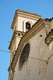 Kirche von Annunziata Bovino Puglia Italien stockbilder