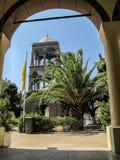 Kirche von Atsiki, limnos Griechenland lizenzfreie stockbilder