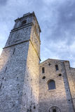 Kirche von Bellagio, Italien lizenzfreie stockbilder