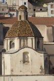 Kirche von Bosa Stockfotografie
