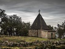 Kirche von Citanea de Briteiros Lizenzfreies Stockbild
