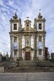 Kirche von De Santo Ildefonso des Heiligen Ildefonso - Igreja Stockfoto