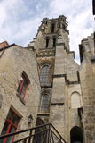 Kirche von der Außenseite Lizenzfreies Stockfoto