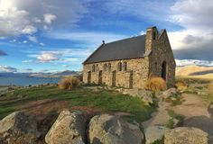 Kirche von der gute Hirte Lizenzfreies Stockbild