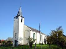 Kirche von Feerwerd vollständig… lizenzfreie stockfotografie