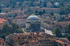 Kirche von Gran Madre di Dio ist eine Neoklassisch-ähnliche gelegene Kirche lizenzfreie stockfotos