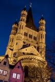 Kirche von grobem St Martin Stockfotos