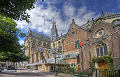 Kirche von Haarlem, Holland Stockbild