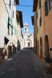 Kirche von Heiligen Quirico und Giulitta lizenzfreie stockfotos