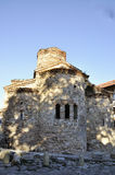 Kirche von Johannes der Baptist bei Sonnenaufgang, Bulgarien, Nessebar Lizenzfreie Stockfotografie