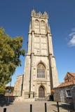 Kirche von Johannes der Baptist, Glastonbury, Somerset, England Lizenzfreie Stockbilder