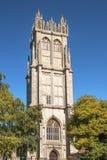 Kirche von Johannes der Baptist, Glastonbury, Somerset, England Stockfoto